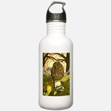 The Elusive Morel Water Bottle