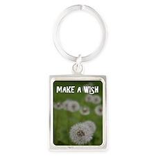 Make a Wish Portrait Keychain