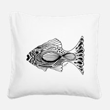 Infinifish Square Canvas Pillow
