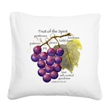 'Fruit of the Spirit' artwork Square Canvas Pillow