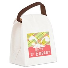 Baby's 1st Easter Canvas Lunch Bag