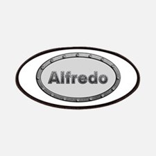 Alfredo Metal Oval Patch