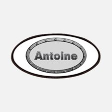 Antoine Metal Oval Patch