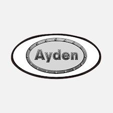 Ayden Metal Oval Patch