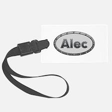 Alec Metal Oval Luggage Tag