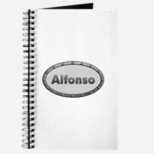 Alfonso Metal Oval Journal