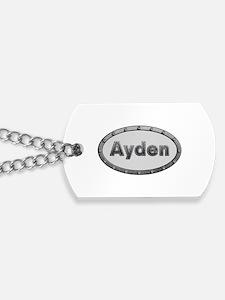 Ayden Metal Oval Dog Tags