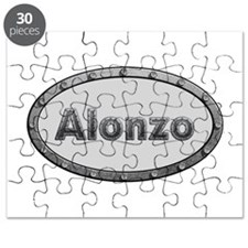 Alonzo Metal Oval Puzzle