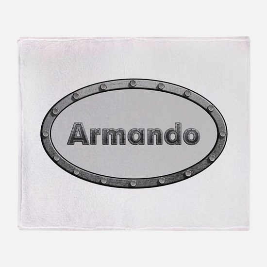 Armando Metal Oval Throw Blanket