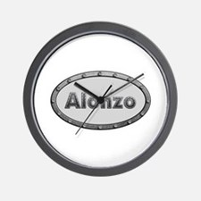 Alonzo Metal Oval Wall Clock