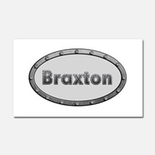 Braxton Metal Oval 20x12 Car Magnet