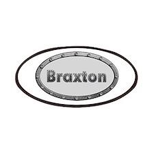 Braxton Metal Oval Patch