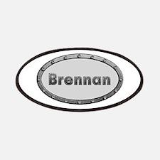 Brennan Metal Oval Patch