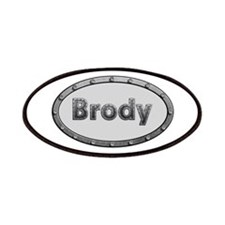 Brody Metal Oval Patch
