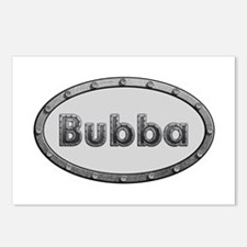 Bubba Metal Oval Postcards 8 Pack