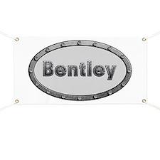 Bentley Metal Oval Banner