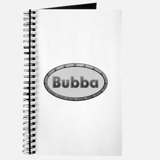 Bubba Metal Oval Journal