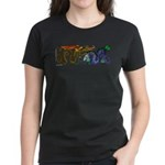 Fire Drake and Sea Serpent Women's Dark T-Shirt