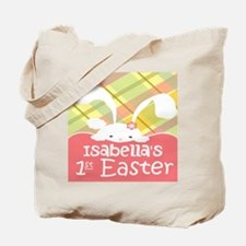 Personalize Babys 1st Easter Tote Bag