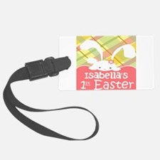 Personalize Babys 1st Easter Luggage Tag