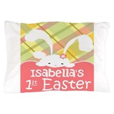 Personalize Babys 1st Easter Pillow Case