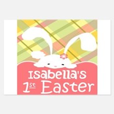Personalize Babys 1st Easter Invitations