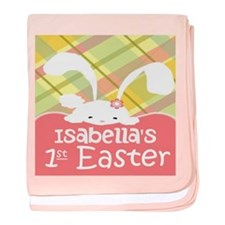 Personalize Babys 1St Easter Baby Blanket