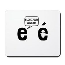 Love Accent Mousepad