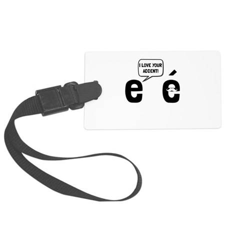 Love Accent Luggage Tag