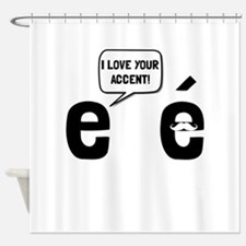 Love Accent Shower Curtain