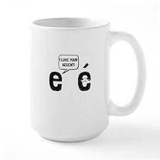 Love Accent Mugs