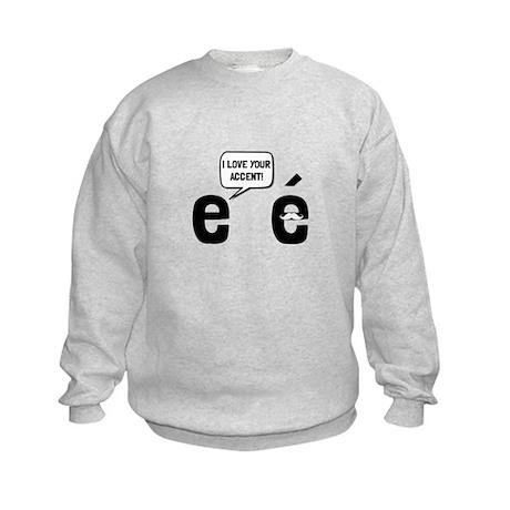 Love Accent Sweatshirt