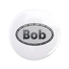 Bob Metal Oval Big Button