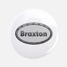 Braxton Metal Oval Big Button 100 Pack