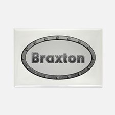 Braxton Metal Oval Rectangle Magnet 100 Pack