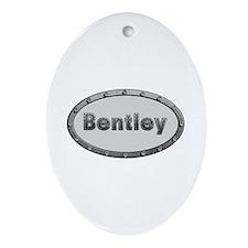 Bentley Metal Oval Oval Ornament