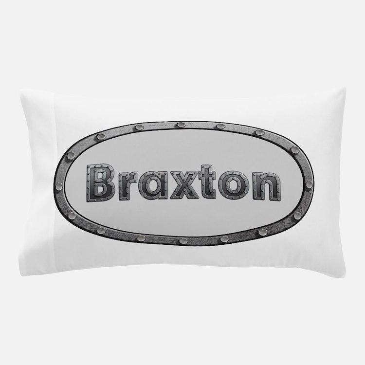 Braxton Metal Oval Pillow Case