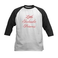 Little Icelandic Princess Baseball Jersey