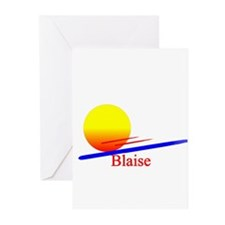 Blaise Greeting Cards (Pk of 10)
