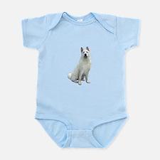 White Akita Infant Bodysuit