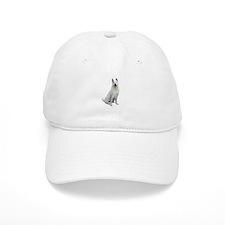 White Akita Baseball Cap