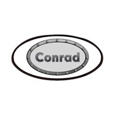 Conrad Metal Oval Patch