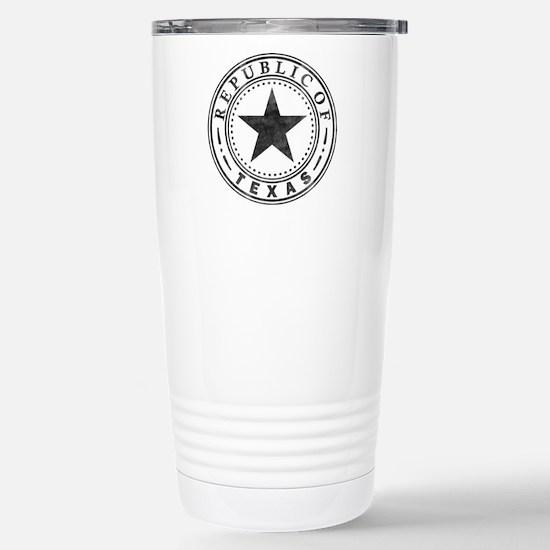 Republic of Texas Stainless Steel Travel Mug