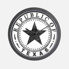 Republic of Texas Wall Clock