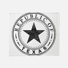 Republic of Texas Throw Blanket