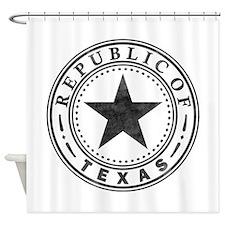 Republic of Texas Shower Curtain