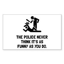 Police Funny Decal