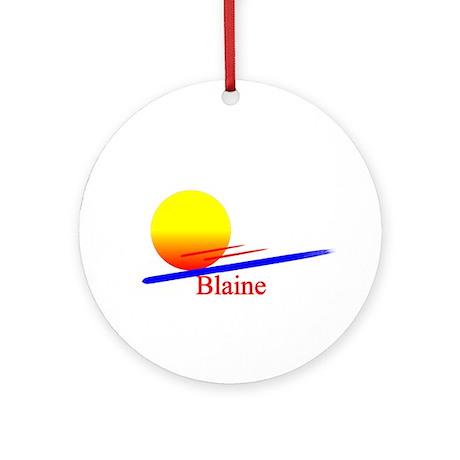 Blaine Ornament (Round)