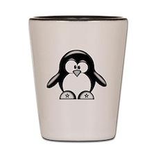 penguin star  Shot Glass