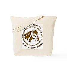 Ride A Diplomat Tote Bag